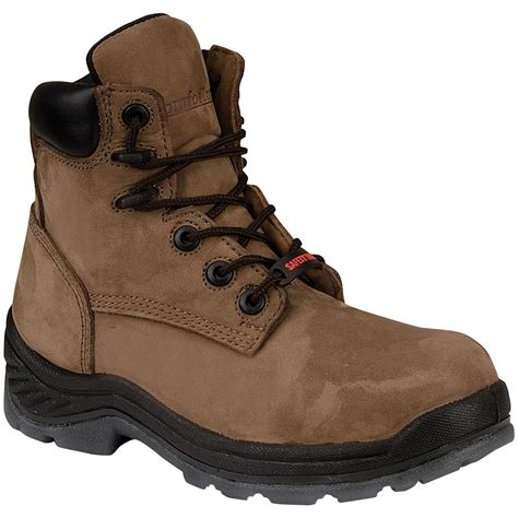 s gear box 174 6 quot composite toe mustang boots brown