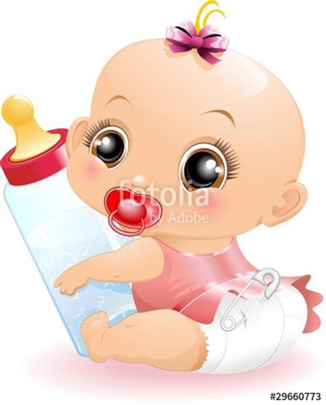 clipart neonato quot neonato beb 232 con biberon baby with baby bottle 2 vector
