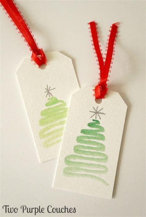 easy watercolor gift tags tutorial perfect for a beginner easy watercolor christmas gift tags 201 tiquettes 224 cadeaux