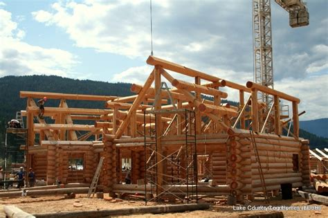 Log Cabin Beams by 1000 Images About Handcrafted Custom Log Roof Systems On