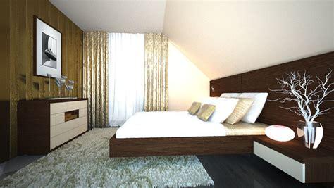 schlafzimmer mit dachschräge begehbarer kleiderschrank schranksysteme