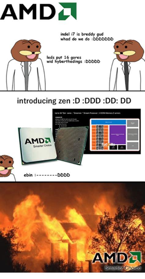 Amd Meme - some zen aots benchmarks amd