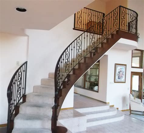 Metal Banisters And Railings by Marvelous Interior Metal Stair Railing 8 Interior Iron