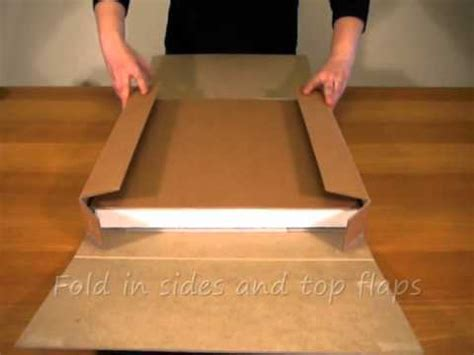 canvaspak stretched canvas shipping box youtube