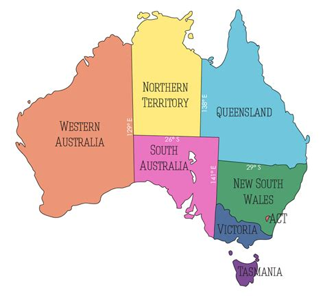 australia map with capital cities australia map with states and capital cities 28 images