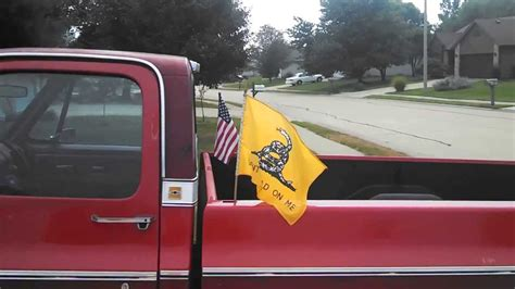 flags for truck beds how to attach a flag to the bed of your truck youtube