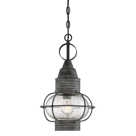 Outdoor Light Pendant Hanging Illumine 1 Light Outdoor Hanging Black Bowl Pendant Cli 88 The Home Depot