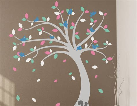 childrens wall stickers uk children s tree wall sticker set contemporary wall stickers
