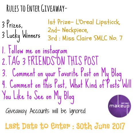 Makeup Giveaways On Insram Mugeek Vidalondon Giveaway Instagram Template