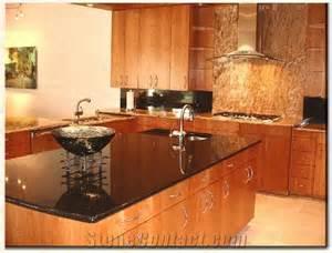 Contractor Cabinets Custom Kitchen Brazil Black Granite Via Lactea Black