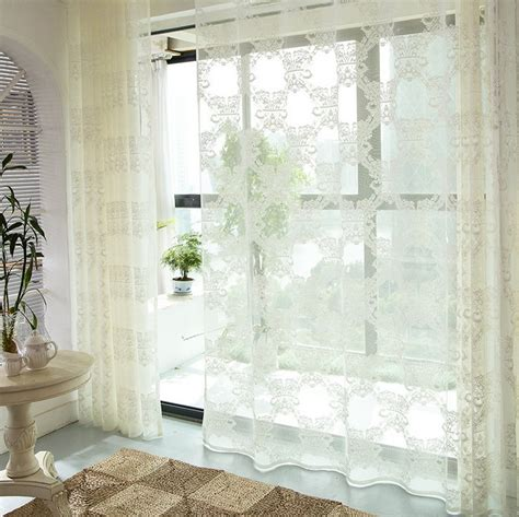 luxury sheer curtains 2016 new luxury living room white curtains bedroom sheer