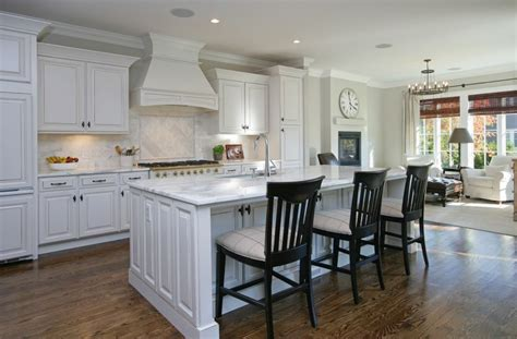 large white kitchen island white kitchen with large island kitchen and decor