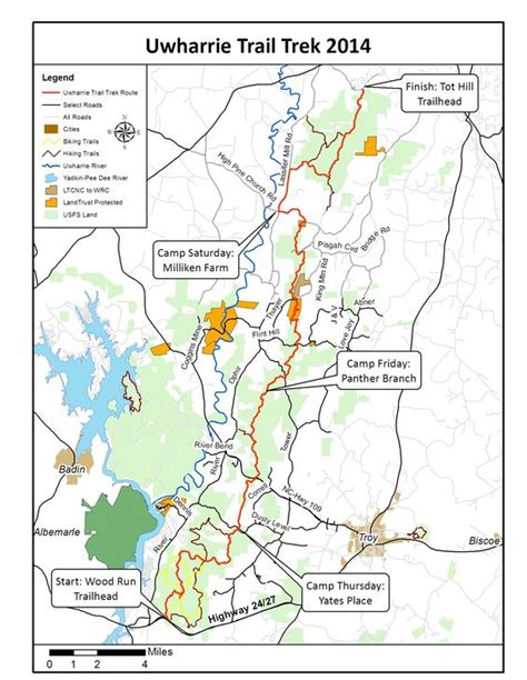 carolina forest trail map uwharrie trail thru hike 2014 forty in the