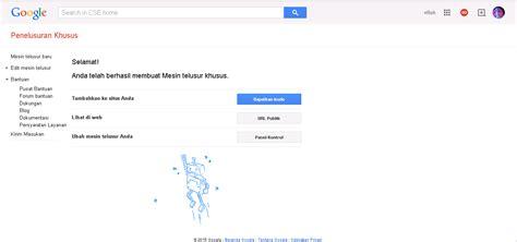 cara membuat blog khusus video cara membuat atau memasang google pencarian khusus di