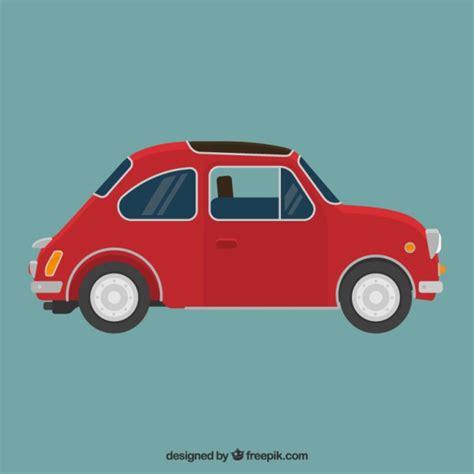 imagenes retro coches coche retro rojo descargar vectores gratis