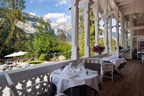 Veranda Jugendstil by Romantik Hotel Schweizerhof Restaurant Flims Restaurant