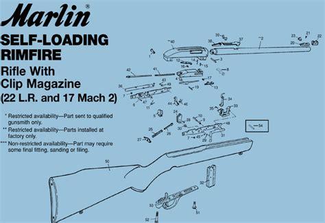 marlin glenfield model 60 parts diagram marlin 795 exploded view