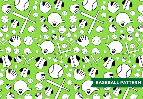 national pattern works thane baseball pattern vector download free vector art stock