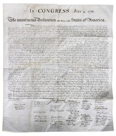 where is declaration of independence housed where is the original declaration of independence housed