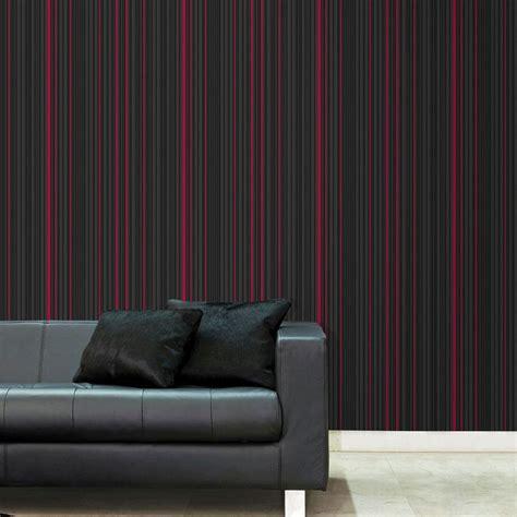 black removable wallpaper graham brown black maestro stripe removable wallpaper 32