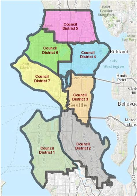 seattle map districts candidates for seattle city council answer sodo arena