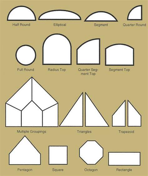 Different Shapes Of Windows Inspiration Radius Windows