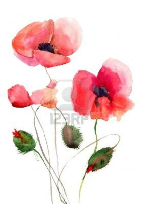 watercolor tattoo tutorial 25 best ideas about watercolor flowers tutorial on