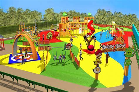 theme park nottingham angry birds theme park announced for nottingham s sundown