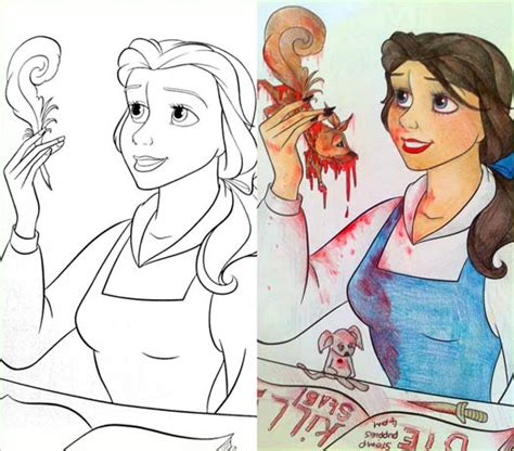 messed up coloring book pages these 23 coloring book corruptions might destroy your