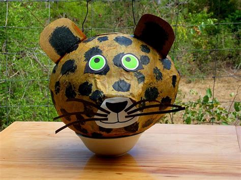 How To Make A Paper Mache Pinata Without A Balloon - paper mache projects guide patterns
