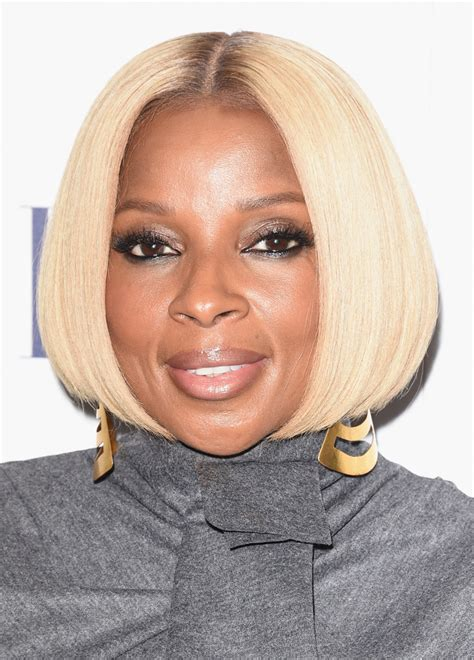 mary j blige hairstyles pictures mary j blige bob short hairstyles lookbook stylebistro