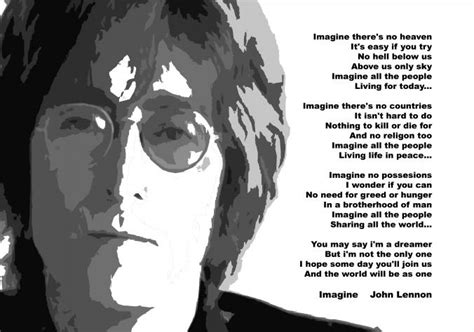 imagine di lennon testo imagine e lennon divent 242 un app a sostegno dell