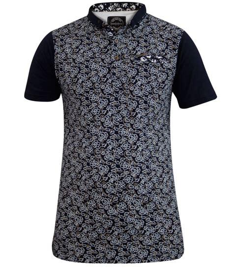 Gw 135 Polo Dress C new mens genetic apparel printed fashion polo collar