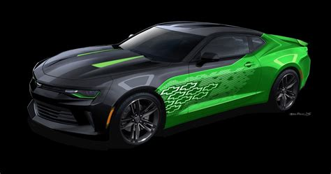 electric green camaro 2016 chevrolet camaro krypton the can emit green