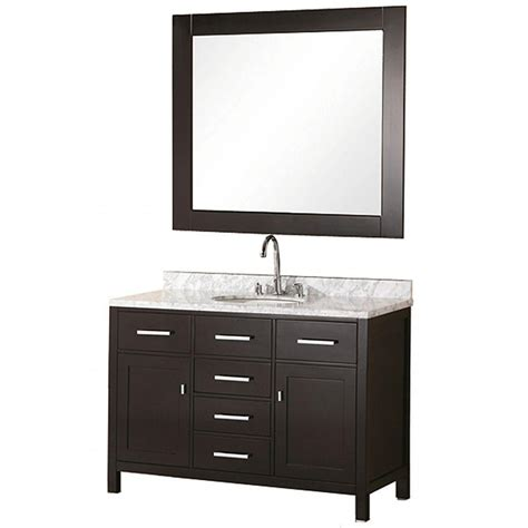 home depot design element vanity design element london 48 in w x 22 in d vanity in
