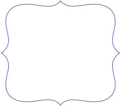 printable cardstock shapes scalloped frames templates clipart free clipart