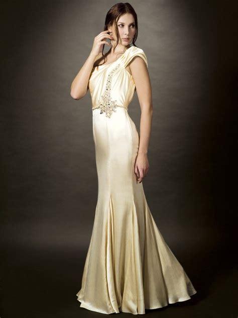 deco wedding dress one shoulder wedding gowns deco weddings