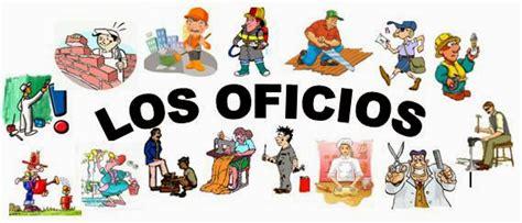 lista de los oficios la aventura de segundo proyecto los oficios profesiones