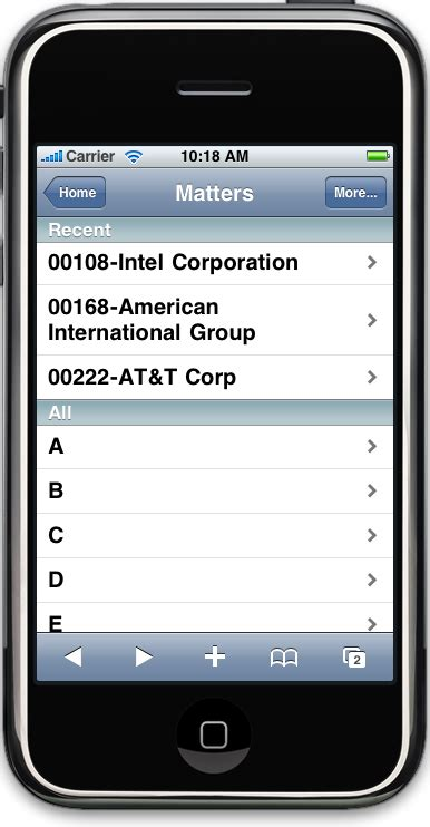 iphone j d clio practice management on the iphone for small firms iphone j d