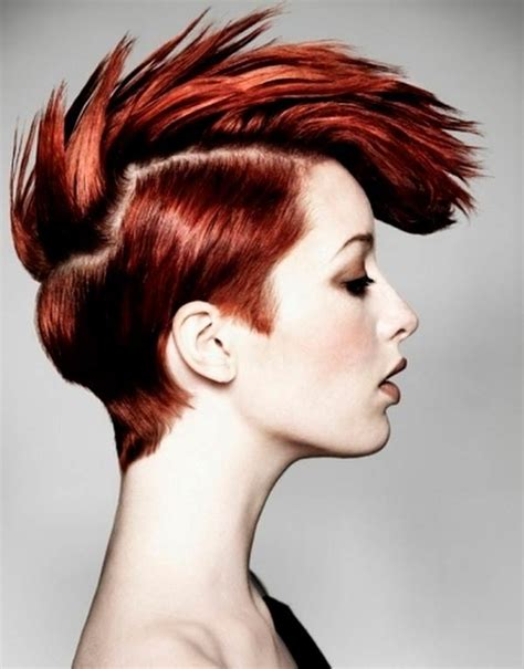 awesome hairstyles and colors 21 steal more attention by splashing your punk hairstyle