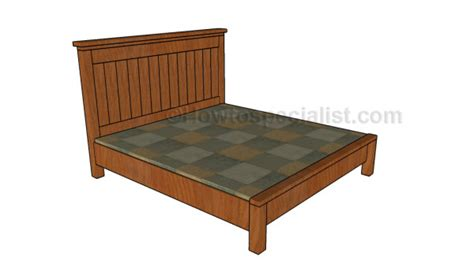 Farmhouse Bed Plans Howtospecialist How To Build Step | farmhouse bed plans howtospecialist how to build step