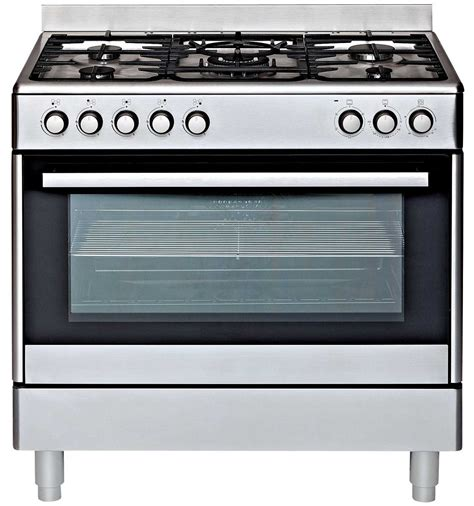Stove With Oven euromaid ge90s freestanding dual fuel oven stove reviews appliances