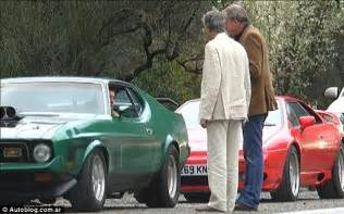 Top Gear Porsche Special Top Gear Crew Attacked In Argentina By Crowd Of Rock