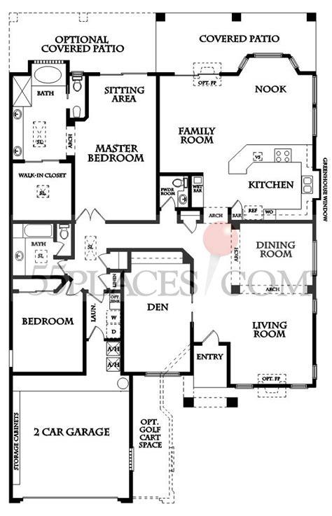 borgata floor plan borgata floorplan 2562 sq ft sun lakes 55places com