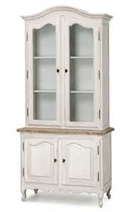 Vintage White Bookcase French Provincial Vintage Furniture Classic Display
