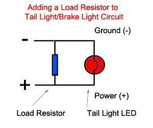 bmw led light resistor bmw led load resistor webbikeworld