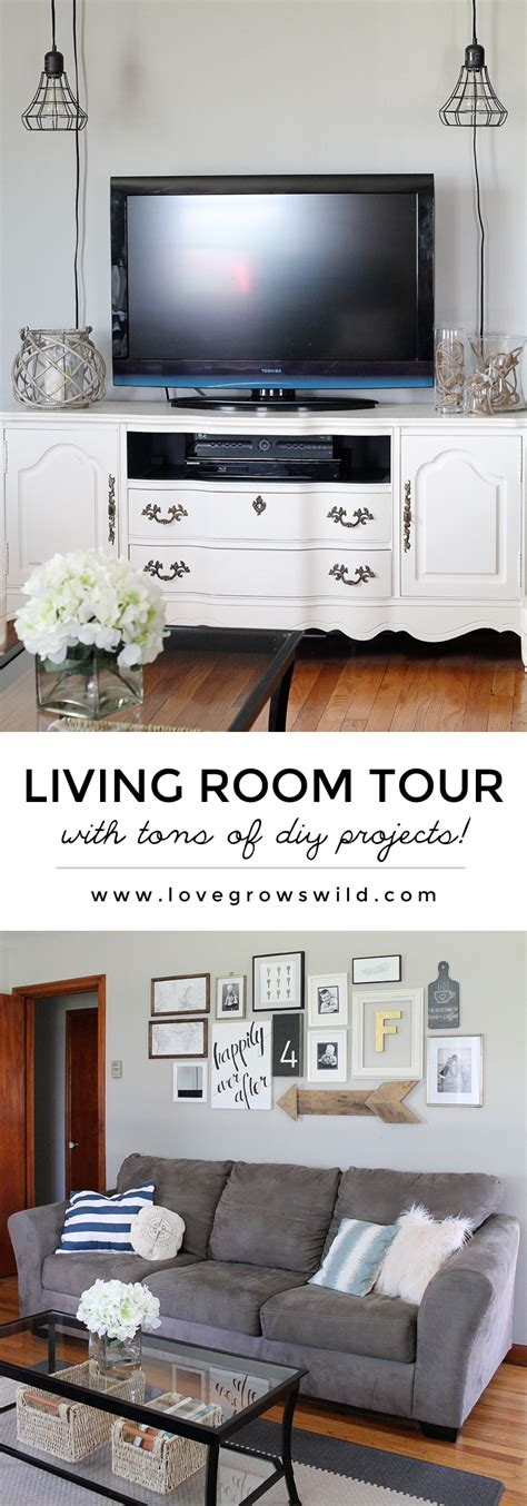 living room tour living room tour love grows wild