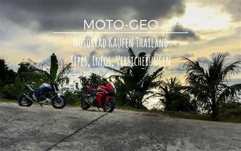 Motorrad Mieten Philippinen by Motorrad In Thailand Mieten Kaufen Versicherungen