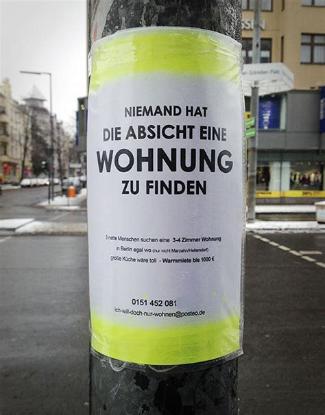 schnell eine wohnung finden wer in berlin eine wohnung finden m 246 chte sollte kreativ