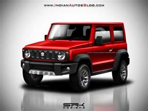 Suzuki Jimny News 2018 Suzuki Jimny Masterfully Rendered Looks Eager To